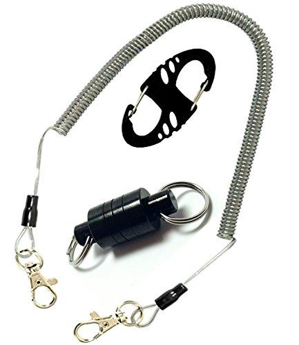 RAH Fly Fishing Anglers Vest Pack Tool Gear Assortment Magnetic Net Release Holder