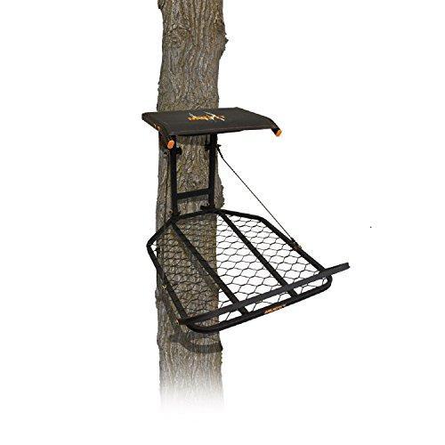 Muddy MFP1075 Boss Tree Stand Fixed Position 24 W x 30 D Platform Flex-Tek Seat Flips up for Full Platform use