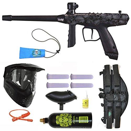 Tippmann Gryphon FX Paintball Marker Gun 3Skull 41 BC Mega Set - Skulls