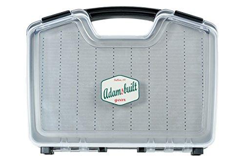 Adamsbuilt Waterproof Saltwater Fly Box Saltwater Box GrayBlack