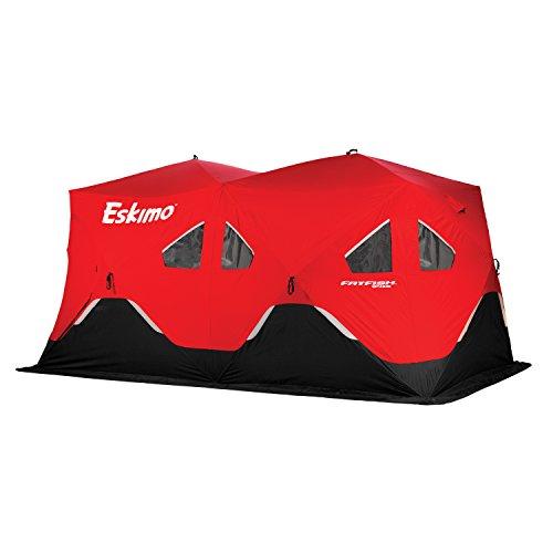 Eskimo FF9416 FatFish Pop-up Portable Ice Shelter 7-9 Person