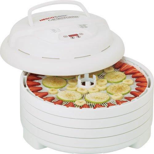 Nesco FD-1040 Gardenmaster Food Dehydrator White 1000-watt - MADE IN USA