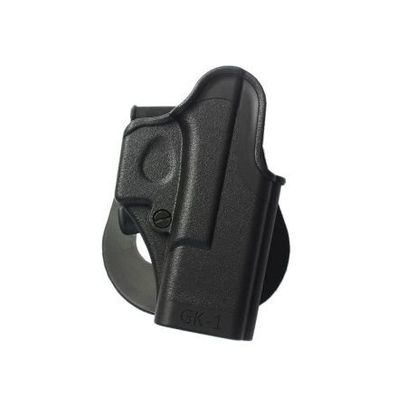 Glock 31 Holster One Piece Polymer Gun Holster 4 Gen Compatible New IMI Israel Model GK1 Black