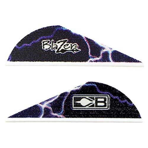 Bohning True Color 2 Blazer Vanes Blue Lightning Blazer Vane 36pk