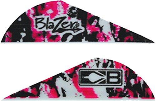 Bohning True Color 2 Blazer Vanes Pink Camo Blazer Vane 100pk