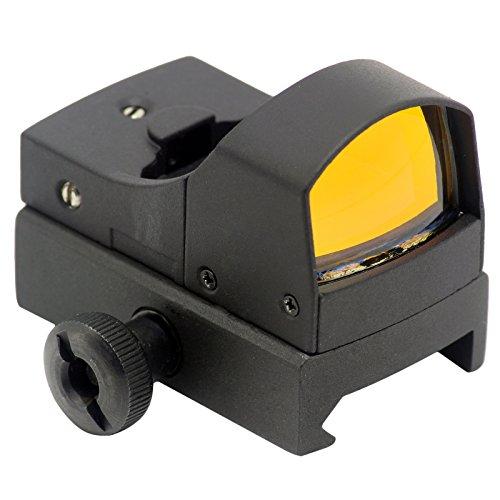 Aimfiree Tactical 3 MOA Micro Red Dot Sight Mini Holographic Optics Reflex Sight wPicatinny Weaver 20mm Rail mount