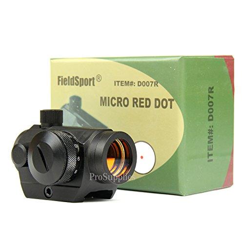 PROSUPPLIES -- Field Sport 4MOA Red Dot Reflex Sight Low Profile Micro Weaver Picatinny Mount