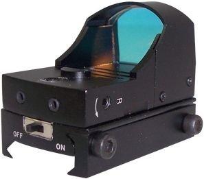 NcStar Compact Tactical Red Dot Reflex SightWeaver BaseBlack DDAB