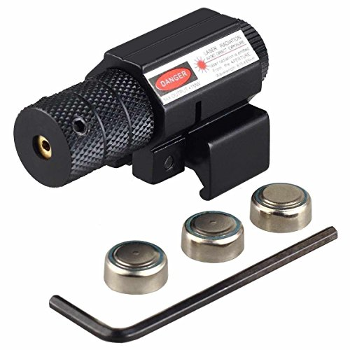 Vokul Hot Tactical Red Laser Beam Dot Sight Scope for Gun Rifle Pistol Picatinny Mount
