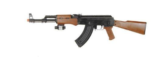 bbtac p1147 ak47 airsoft gun w tactical red dot light airsoft spring rifle with bbtac warrantyAirsoft Gun