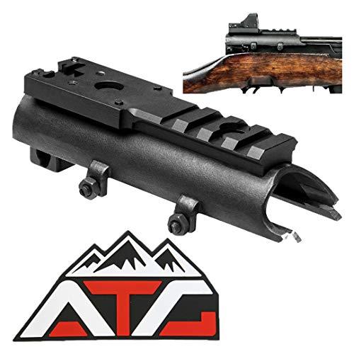 ATG SKS Micro Dot Sight Weaver Picatinny Rail Scope Mount Aluminum