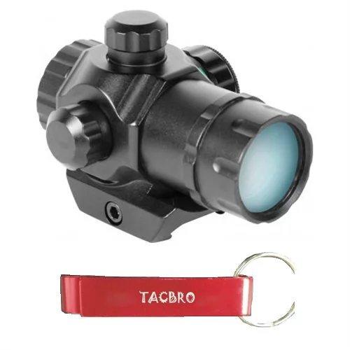 TACBRO MICRO DOT SIGHT 1X30MM with One Free TACBRO Aluminum OpenerRandomly Selected Color