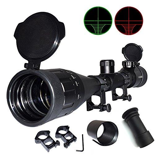 UPDATE Feyachi Tactical 8-32x50 AOEG Rifle Scope for Hunting Dual Red Green Illuminated Optics WeaverP-i-c-a-t-i-n-n-y scope
