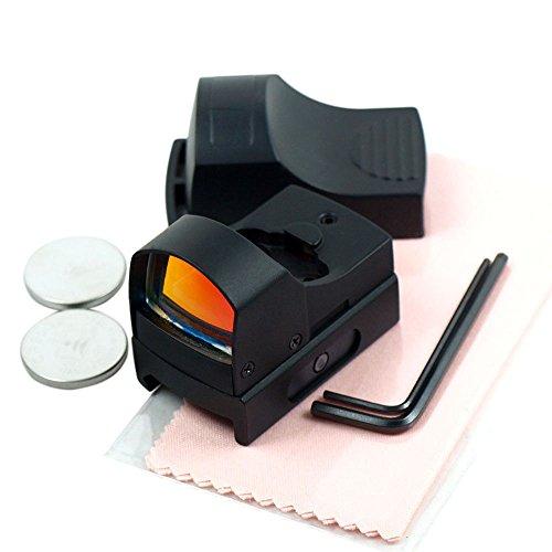 Chinoook Mini Holographic Reflex Micro 3 MOA Red Dot Sight w Picatinny Weaver Mount