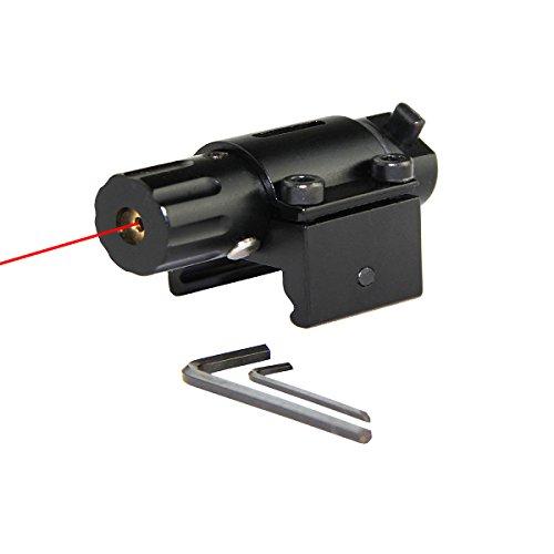 Tactical Hunting Super Mini Red Dot Laser Sight for Pistol Handgun with 20mm Rail Class Type Class IIIA