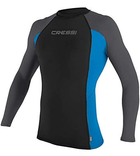 Cressi Menss Short Long Sleeve Rash Guard Swimming Surfing Diving