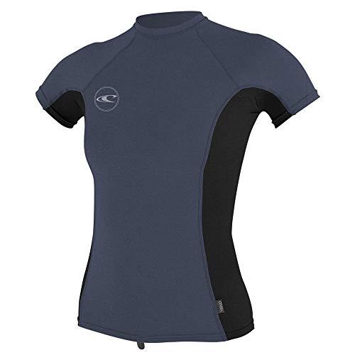 ONeill Womens Basic 50 Skins Short Sleeve Rash Guard