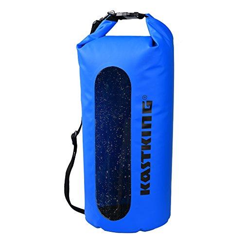 KastKing Waterproof Dry Bag Boating and Fishing Kayak Dry Bags Waterproof Duffel BackpackDry Sack Water Proof Canoe with Camping and Fishing Gear