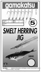 Gamakatsu SmeltHerring Rig Nkl Sz 4 Fishing Equipment