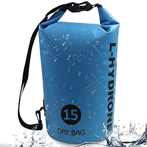 L-Hydrone Waterproof Bag Adjustable Shoulder Straps Dry Sack Keeps Ocean Pack (4 Color)