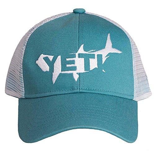 YETI Tarpon Trucker Hat Teal