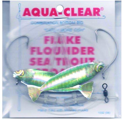 Aqua Clear FW-2AHG HiLo FlukeFlounderTroutCroaker Green Minnow