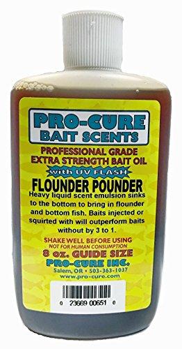 Pro-Cure Flounder Pounder Heavy Liquid 8 Ounce