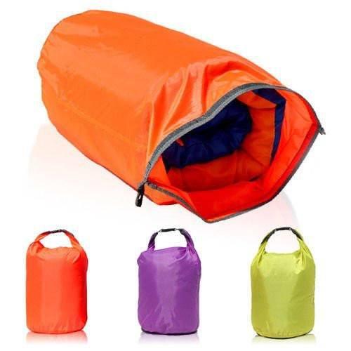 CAMTOA 40L Lightweight Dry Sacks Waterproof Dry Bag Canoe For Floating Boating Kayaking Camping Color Random
