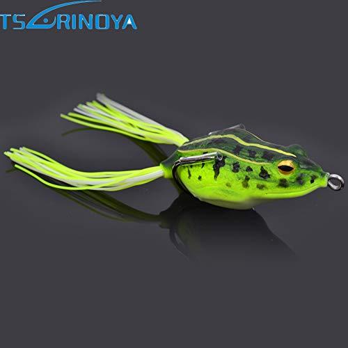 55mm 125g 3pcslot Soft Frog Bait Fishing Lures Iscas Artificiais para Pesca Leurre Souple Fishing Wobblers Feeder