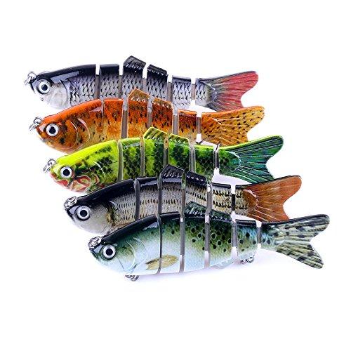 6 Segment Swimbait Lures Crank baits Baits Hard Bait Fishing Lures Spinner Crankbaits Hooks