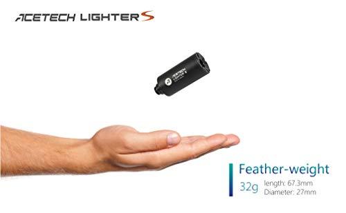 ACETECH Lighter S Airsoft Gun 14mm Pistol Tracer Unit Glow in Dark Adaptor x 1 M14 Anti-clockwise Thread to M11 clockwise Thread