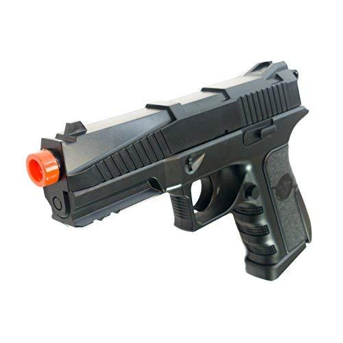 Black Ops BR45 Airsoft Pistol - CO2 High Powered 6mm Airsoft Gun