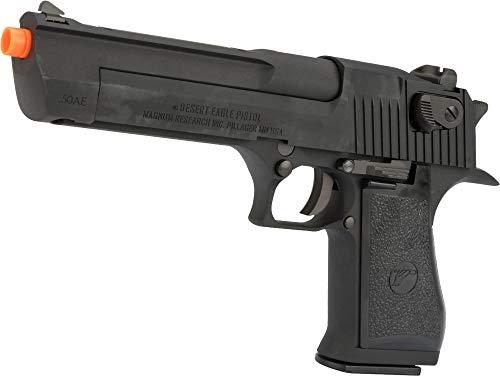 Evike WE-Tech Desert Eagle 50 AE Full Metal Gas Blowback Airsoft Pistol by Cybergun