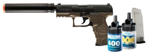 Walther PPQ 6mm BB Pistol Airsoft Gun Combat Kit Gun 800 BBs and 2 Mags