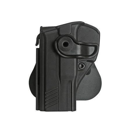 Left hand holster for Taurus 247 G2 Pistols Retention Roto Holster and a genuine IGWSs firing range earplugs kit