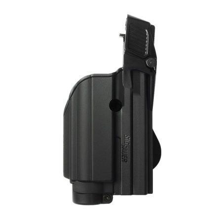 Sig Sauer P227 45 ACP tactical holster level II light  laser gun Black and a genuine IGWSs firing range earplugs kit