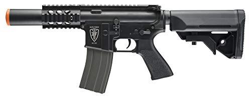 Elite Force M4 AEG Automatic 6mm BB Rifle Airsoft Gun CQC Black