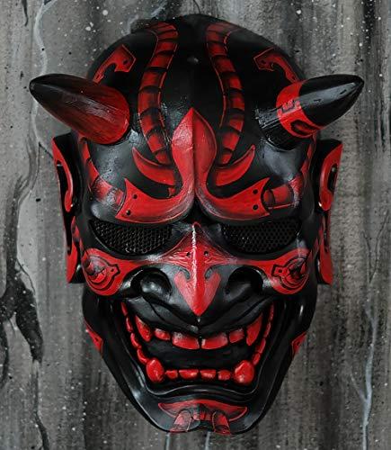 tripple_777 Hannya Kabuki Demon Oni Airsoft Mask BB Gun Halloween Costume Evil Cosplay MA244