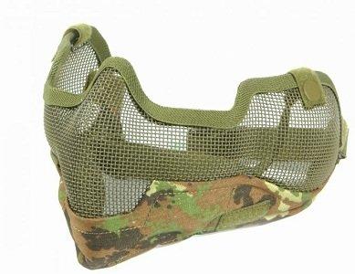 Bravo Tactical Gear V2 Strike Metal Mesh Mask - Flektarn