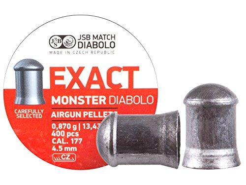 JSB Diabolo Exact Monster 177 Caliber Air Gun Pellets
