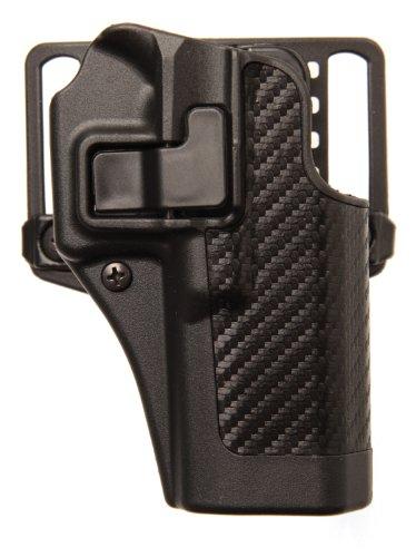 BLACKHAWK Serpa CQC Carbon Fiber Appliqué Finish Concealment Holster Size 09 Right Hand H&K USP Compact