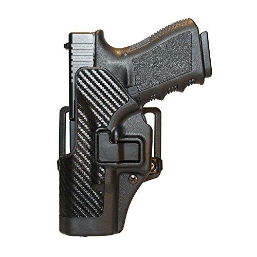 BLACKHAWK Serpa CQC Carbon Fiber Appliqué Finish Concealment Holster Size 28 Right Hand Beretta Storm PX-4