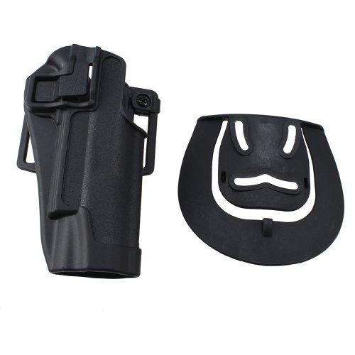 AGPtek Tactical Holster Right Hand Paddle  Belt Holster for Colt 1911 Black