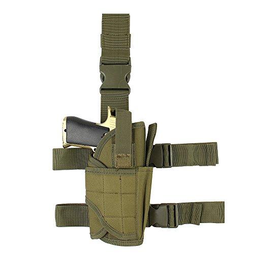 Adjustable Drop Leg Holster  Right Handed Tactical Thigh Pistol Gun Holster Leg Harness XL