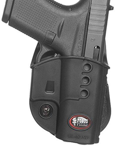 Fobus Model GL42NDLH Glock 42 Left Hand Paddle Holster