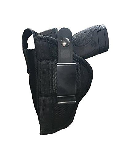 Nylon Belt or Clip on Gun Holster Fits HI-POINT 45 ACP