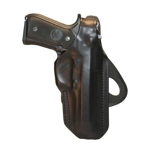 Blackhawk 420704BK-L Check-Six Leather Concealment Holster Black