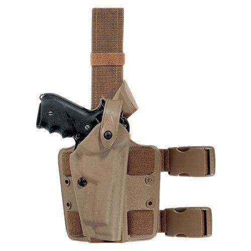 Safariland 6004 Black Streamlight M3 Mount Glock 19 23 25 32 SLS Hood Tactical Gun Holster Right Handed