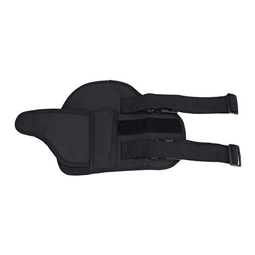 Alomejor Leg Gun Bag Kids Tactical Leg Holster Kit with Dart Pouch Toy Guns Holster Holder for Outdoor Hiking Cycling
