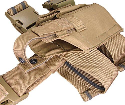 Condor Tactical Leg Holster - Coyote - New - TLH-498